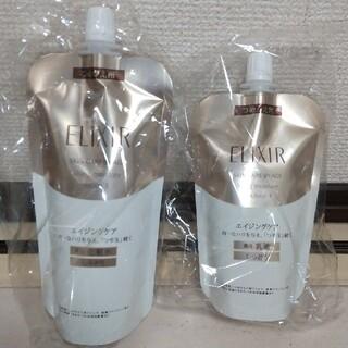 エリクシール(ELIXIR)のエリクシールシュペリエル しっとり 化粧水&乳液 詰替セット(化粧水/ローション)