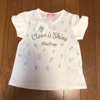 BeBe - 新品 キスドロップ 半袖Tシャツ サイズ110 白 bebe