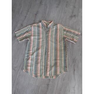 エルエルビーン(L.L.Bean)のL.L.Bean MEN'S ストライプ半袖シャツ(シャツ)