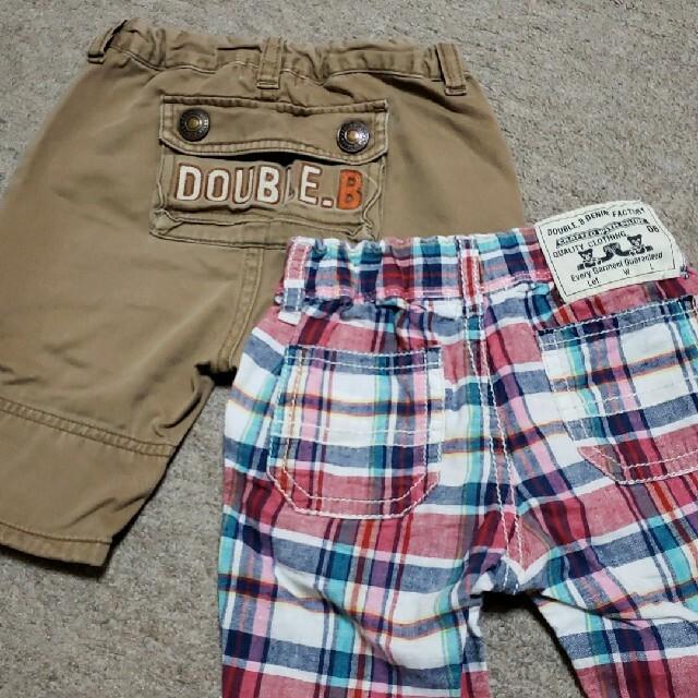 DOUBLE.B(ダブルビー)のDOUBLE   パンツ キッズ/ベビー/マタニティのキッズ服男の子用(90cm~)(パンツ/スパッツ)の商品写真
