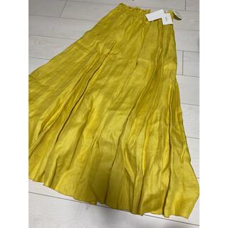 Mila Owen - 最終値下げ 新品 タグ付き ミラオーウェン  リネン ロングスカート