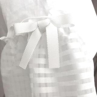 ギャラリービスコンティ(GALLERY VISCONTI)のギャラリービスコンティ お袖リボン カットソー(カットソー(半袖/袖なし))