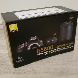 ニコン(Nikon)のNikon D5600 ダブルズームキット 新品未使用(デジタル一眼)