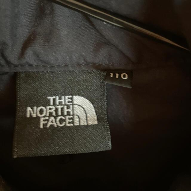 THE NORTH FACE(ザノースフェイス)のお値下げ!ノースフェイスキッズウインドブレーカー110cmパタゴニアアディダス キッズ/ベビー/マタニティのキッズ服男の子用(90cm~)(ジャケット/上着)の商品写真