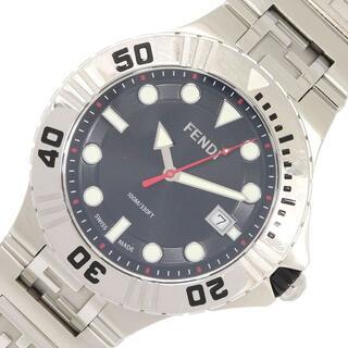 フェンディ(FENDI)の フェンディ メンズウォッチ ノーティコ ブラックダイヤル(腕時計(アナログ))