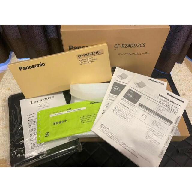 Panasonic(パナソニック)の【超美品】Panasonic Let's noteレッツノート CF-RZ4 スマホ/家電/カメラのPC/タブレット(ノートPC)の商品写真