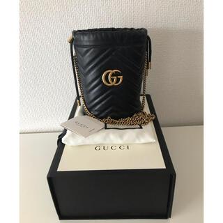 Gucci - 極美品 GUCCIグッチ GGマーモント ショルダーバッグ