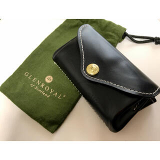 GLENROYAL - GLENROYAL SMALL PURSE ブラック