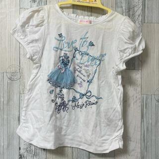 mezzo piano - メゾピアノ  mezzo piano Tシャツ 120