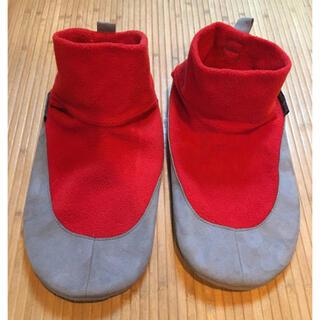 mont bell - モンベル クリマプラス100 キャンプシューズ フリース ルームシューズ 靴下