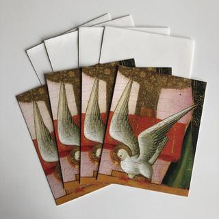 メトロポリタン美術館 鳩のクリスマスカード4枚セット(カード/レター/ラッピング)