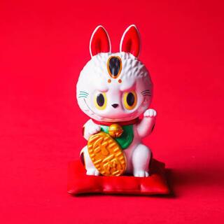 ☆新品☆ LABUBU 招き猫 日本限定 POPMART(キャラクターグッズ)