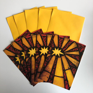 メトロポリタン美術館 星のクリスマスカード5枚セット(カード/レター/ラッピング)