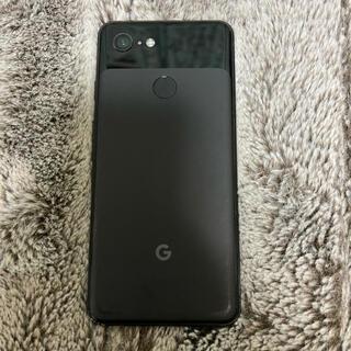 グーグルピクセル(Google Pixel)の【ジャンク】pixel3 jet Black 64GB キズ有り(スマートフォン本体)