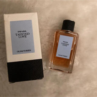 プラダ(PRADA)のプラダ オルファクトリー テインテッドラブ 10ml  レア品(香水(女性用))