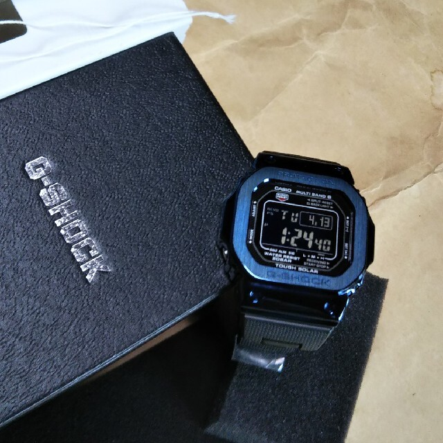 G-SHOCK(ジーショック)のGW-M5610BC-1JF ベゼルカスタム 未使用・新品  メンズの時計(腕時計(デジタル))の商品写真