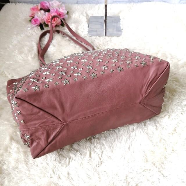 JIMMY CHOO(ジミーチュウ)の正規品♡  ジミーチュウ トートバッグ フィリッパ ピンク 366 レディースのバッグ(トートバッグ)の商品写真