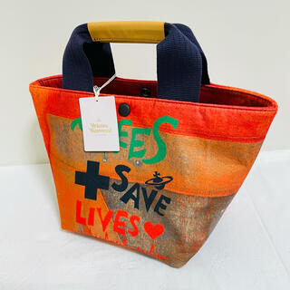 Vivienne Westwood - ヴィヴィアンウエストウッド TREES SAVES LIVES 手提げバッグ