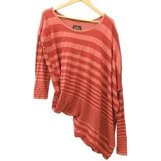 ヴィヴィアンウエストウッド(Vivienne Westwood)のVivienne Westwood ANGLOMANIA カットソー S レッド(Tシャツ/カットソー(七分/長袖))