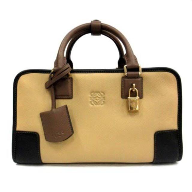 LOEWE(ロエベ)のロエベ アマソナ 28 AMAZONA 28 バッグ ハンド レザー ロゴ レディースのバッグ(ハンドバッグ)の商品写真