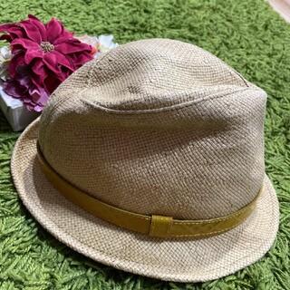 BURBERRY - バーバリー 爽やかな麦わら帽子