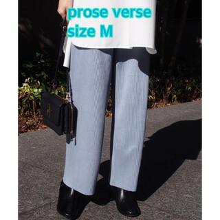 プロズヴェール(prose verse)の⑧⑧②prose verse カットスエードプリーツパンツ sizeF(カジュアルパンツ)