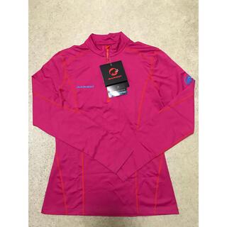 マムート(Mammut)の新品 MAMMUT レディースL アイガーエクストリーム 長袖ジップシャツ(登山用品)