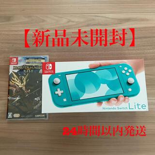 Nintendo Switch - Nintendo Switch  Lite ターコイズ モンスターハンターライズ
