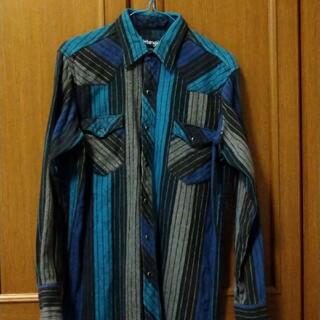 ラングラー(Wrangler)のラングラー ラングラー 肉厚ネル ウエスタンシャツ!90年代(シャツ)