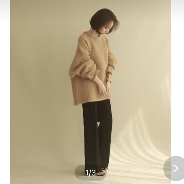 TODAYFUL(トゥデイフル)のlouren stretch semiflare pants レディースのパンツ(カジュアルパンツ)の商品写真
