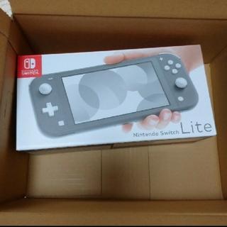 Nintendo Switch - 【新品未開封】Nintendo Switch Lite グレー スイッチライト