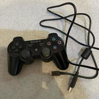 プレイステーション3(PlayStation3)のPS3純正コントローラー ケーブル付き(その他)