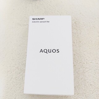 AQUOS - AQUOS sense4 lite シルバー