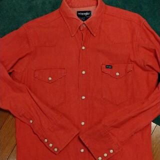 ラングラー(Wrangler)の80年代 Wrangler ウエスタンシャツ デニム Made inUSA(シャツ)