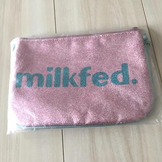 ミルクフェド(MILKFED.)のmilkfed.キラキラポーチ(ポーチ)