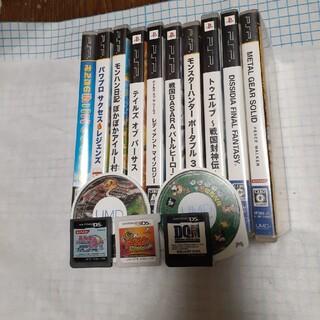 プレイステーションポータブル(PlayStation Portable)のPSPソフトセット 中古 人気名作 (携帯用ゲームソフト)