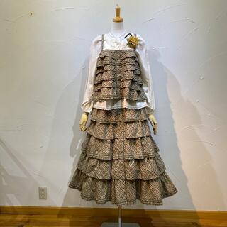 カネコイサオ(KANEKO ISAO)のワンダフルワールド キャミブラウス&段々スカートのセット(セット/コーデ)