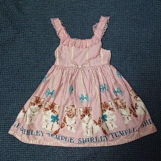 Shirley Temple - シャーリーテンプル 子猫 ワンピース 110