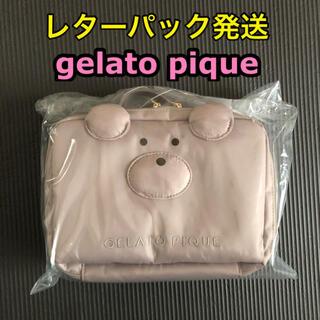 gelato pique - ベアおむつポーチ・旅行ポーチ◆ジェラートピケ・クマ・テディベア◆