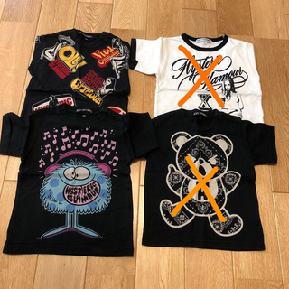 JOEY HYSTERIC - joey hysteric  Tシャツ3枚