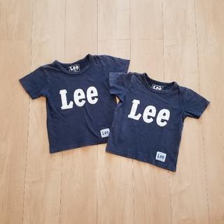 Lee - 半袖 ネイビー Lee  110㎝ 120㎝