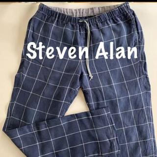 スティーブンアラン(steven alan)のSteven Alan スティーブンアラン イージー パンツ 麻  XL(スラックス)