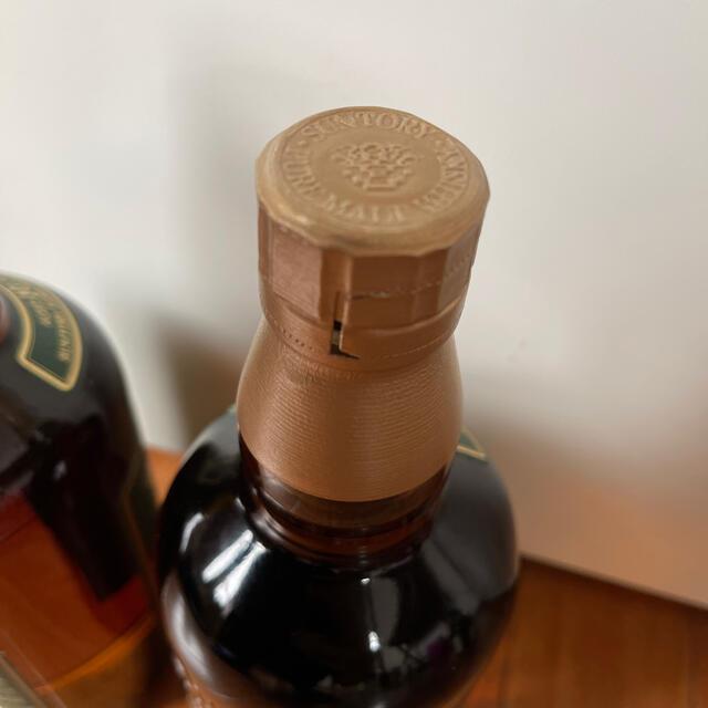 サントリー(サントリー)のサントリー 山崎 10年 グリーンラベル 未開封 送料込み 食品/飲料/酒の酒(ウイスキー)の商品写真