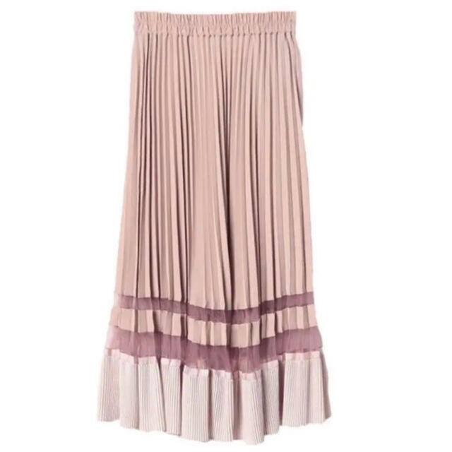 eimy istoire(エイミーイストワール)のeimy シアーコンビプリーツスカート レディースのスカート(ロングスカート)の商品写真