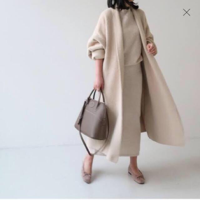 ❤️新品 エコミンクファーコート❤️ レディースのジャケット/アウター(毛皮/ファーコート)の商品写真