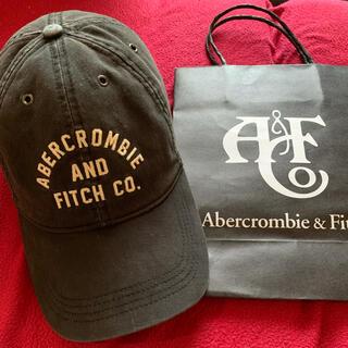 Abercrombie&Fitch - アバクロキャップ【定番モデルBLACK.最終価格】