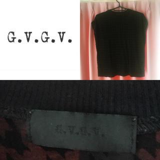 ジーヴィジーヴィ(G.V.G.V.)のG.V.G.V☆千鳥柄トップス(シャツ/ブラウス(半袖/袖なし))