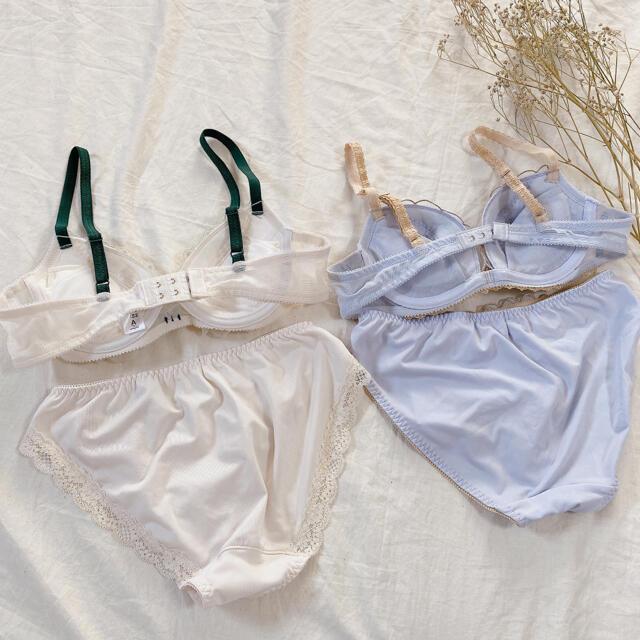 AMPHI(アンフィ)のワコール株式会社 アンフィ《ブラジャー ショーツ》2セット ワイヤー入り レディースの下着/アンダーウェア(ブラ&ショーツセット)の商品写真