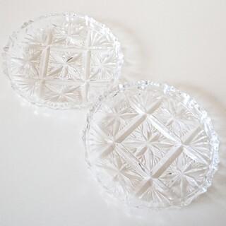 Noritake - ノリタケ Noritake クリスタルガラスプレート 皿 二枚セット