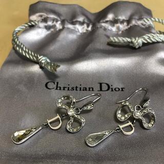 Christian Dior - クリスチャンディオール ピアス リボン